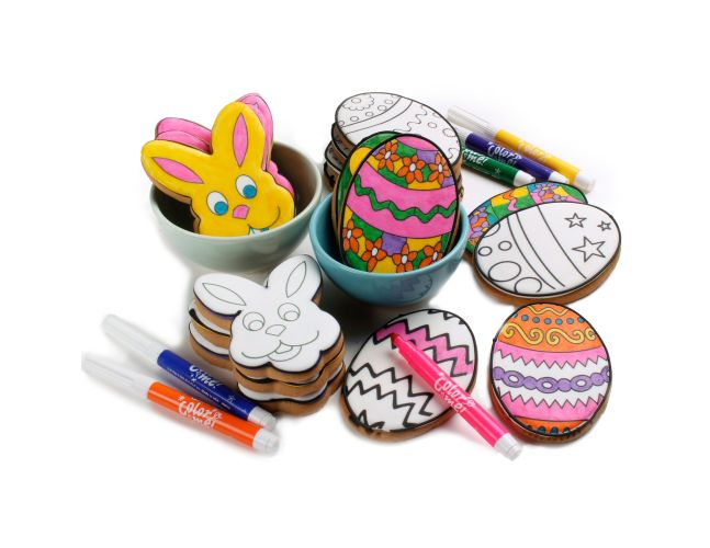 Color Me! Coloring Book Easter Party Tin Eleni's Cookies Eleni's  Cookies NYC